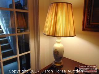 Ceramic Vase Based Lamp.