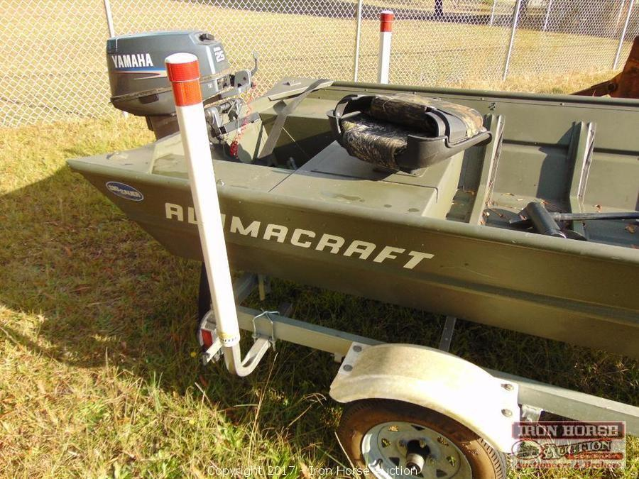 Iron Horse Auction - Auction: Tractors, Boat, Mower, Kawasaki, Tools