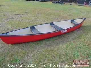 Pelican 15.5 Ft. 3 Seat Canoe