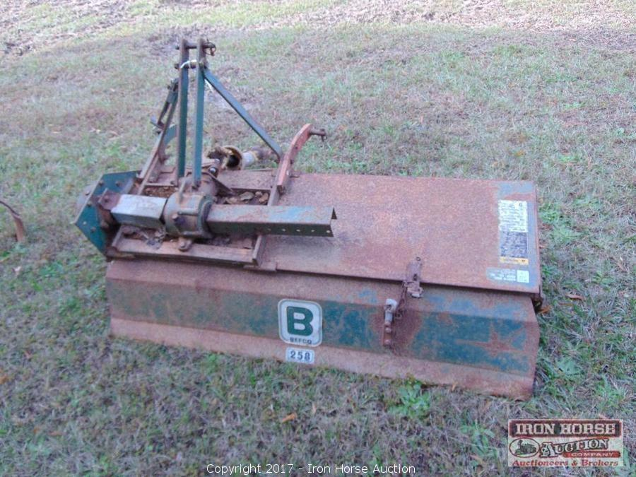 Iron Horse Auction - Auction: Tractors, Boat, Mower