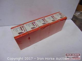 (5) Boxes 100 per box Hornady 270  cal .277 150 GR SP interlock Bullets (5 x money)