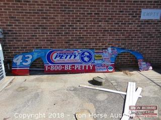 Richard Petty Driving Experience Partial Side Panel