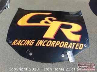 C & R Racing Inc. Branded Hood