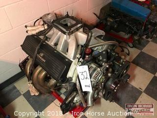 Dodge R5 Race Engine