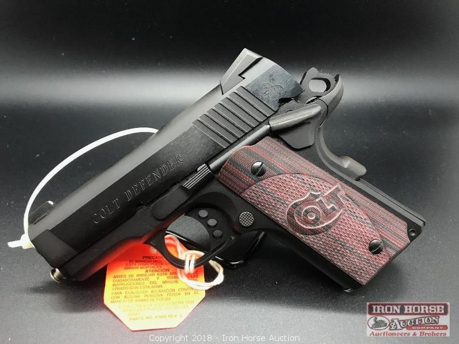 Iron Horse Auction - Auction: Bankruptcy Auction of Guns and