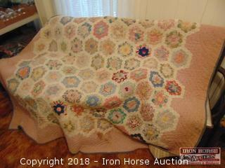 Hand Stitched Quilt -