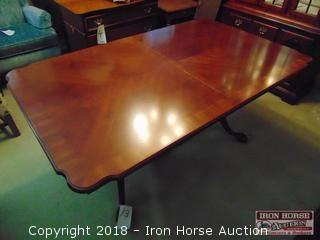 Mahogany Veneer Dining Table