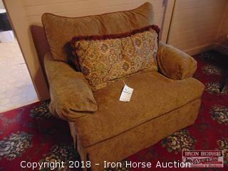 Large Cloth Covered Chair