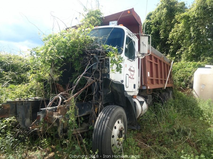 Iron Horse Auction - Auction: Dump Trucks, Pickup Trucks