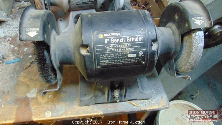 Iron Horse Auction Auction Bankruptcy Auction Of Tools And Equipment Item Black And Decker 6