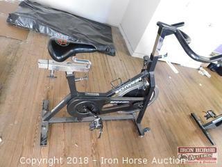 Schwinn Stationary Bike  Johnny Spinner Pro -  Model # 2700T Serial # 58334
