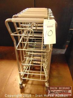 Good L Corp shopping cart for green baskets