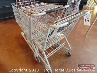 Technibilt full size shopping cart