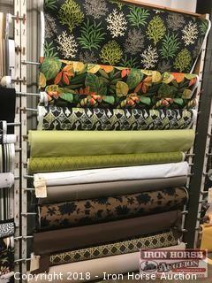 (12) Rolls Indoor-Outdoor and Marine Grade Fabric