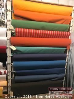 (11) Rolls Indoor-Outdoor Fabric
