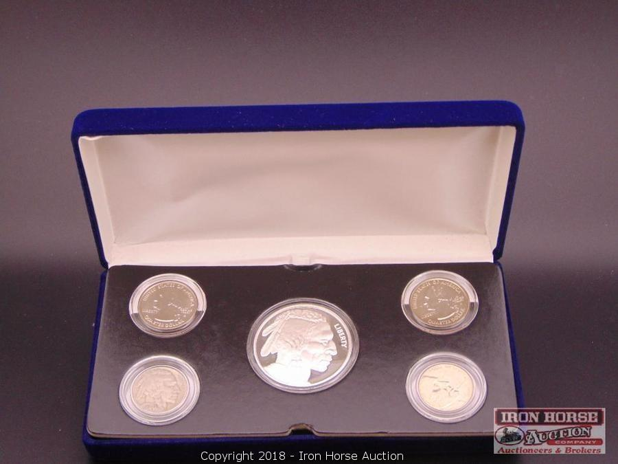 Iron Horse Auction - Auction: Coin and Currency ITEM: 5 pc