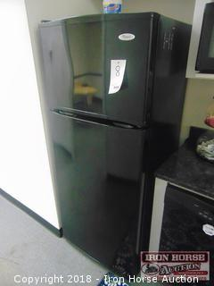 Whirlpool Refrigerator  -  top freezer,  ice maker in freezer