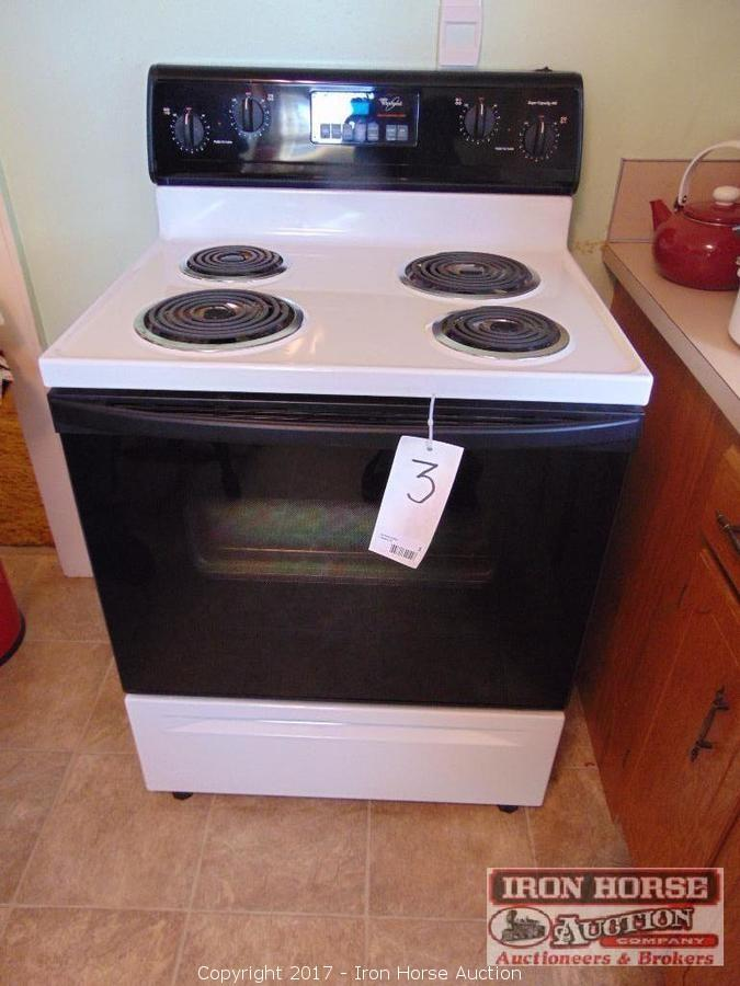 Iron horse auction auction personal property auction for What is the bottom drawer of an oven for