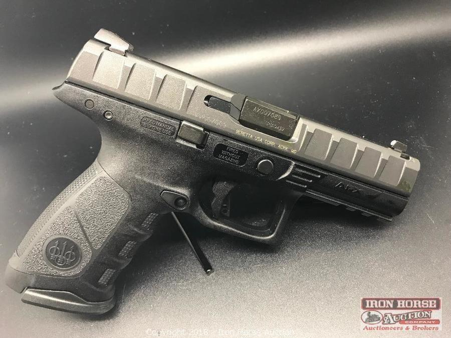 Iron Horse Auction - Auction: Gun And Ammo Resale ITEM: Beretta APX
