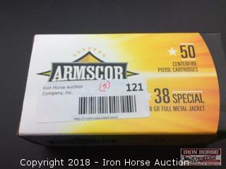 (5) Armscor 38 spcl. 158gr. FMJ