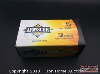 (4) Armscor 38 spcl. 158gr. FMJ