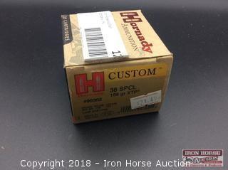 Hornady Custom 38 spcl. 158gr. XTP