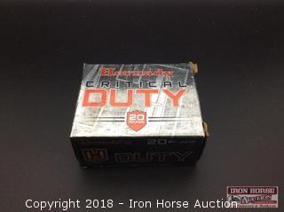 (3) Hornady Critical Duty 357 Sig 135gr. Flexlock
