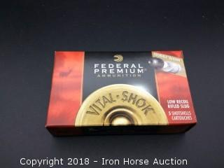 (10) Boxes 5 Rounds Federal 12Ga 2 3/4in Trubail Low Recoil Rifled Slug HP