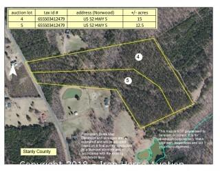 12.5 +/- Acres w/ US Hwy. 52 Road Frontage
