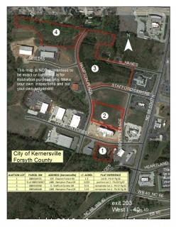3.023 +/- Acres Located At 1480 Hampton Plaza Dr., Kernersville, NC  27284