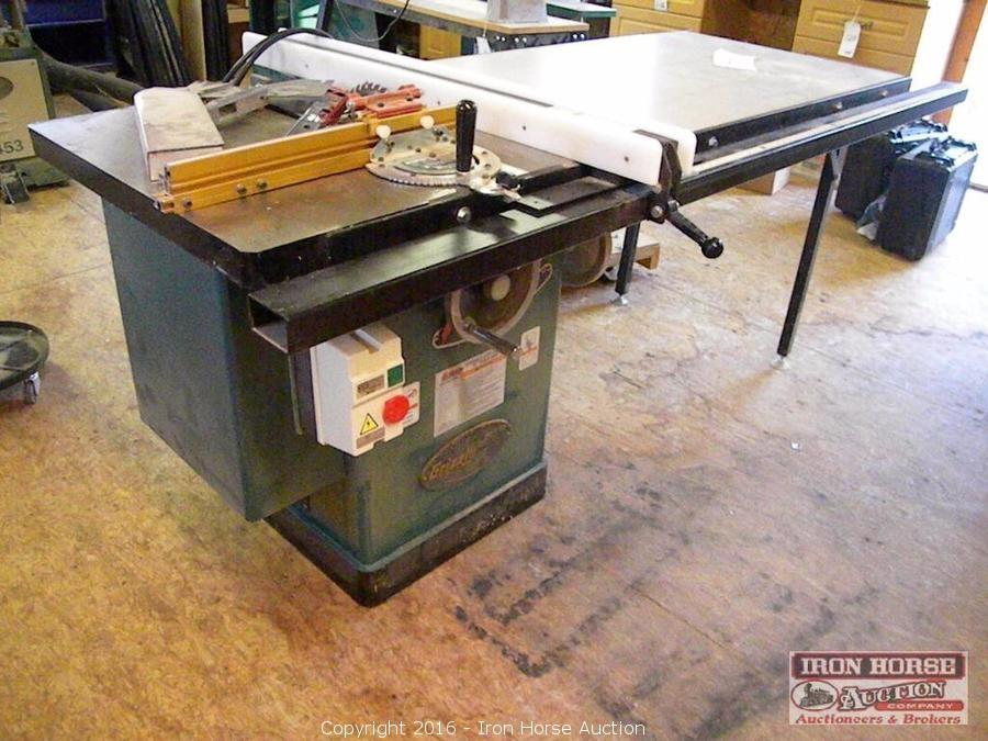 Iron horse auction auction 66 39 mustang jd tractor for 52 table saw fence