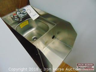 Krowne model 18-12db undercounter bar sink 12in wide 24 in deep 33 in tall