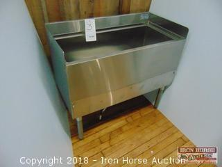 Krowne model 18-36-7 cold plate ice bin 36 in wide 18.5 in deep 33 in tall