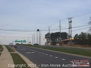 3.82+/- Acres of Commercial Land Off Exit 55 in Concord, NC