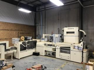 Decoufle Rod Maker, Max-S Tipping Unit, Inflow Tray Filler, Donaldson Dust Collector in Line 5 Decouple- 3 machines