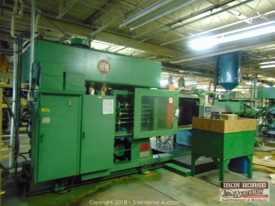 Iron Horse Auction - Auction: HPM Injection Molding Machines, Dies