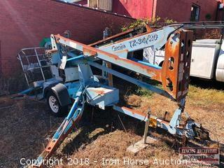 2004 Genie TZ-34/20 Electric Man Lift, Currently Not Operational, Serial: TZ3404-373