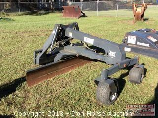 "Bobcat Grader 84"" Blade w/ Hydraulic Tilt and Angle"