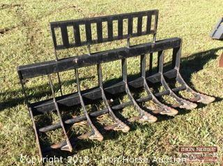 "Root/Rock Rake for Skid Steer 72"" Wide"