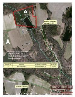 15.66+/- Acres Located off Union Pines Drive in Moore County, NC