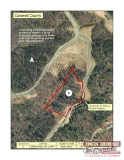 2.89+/- Acres Located on Roca Vista Drive in Lenoir, NC