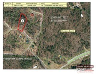 1.229+/- Acres on Fish Hawk Ridge in Cherokee County, NC