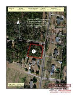 .543+/- Acre located on Patterson Circle in Laurinburg, NC