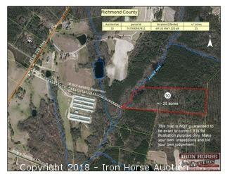 25+/- Acres off U.S. 220 Alternate in Ellerbe, NC