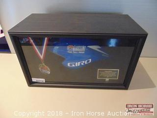 2006, Endurance Magazine Time Trial Series, Charlotte Motor Speedway.  Giro Bicycle Helmet presented to Humpy Wheeler