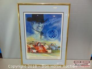 Dodge, Shelby, Pro Series, Framed Poster.