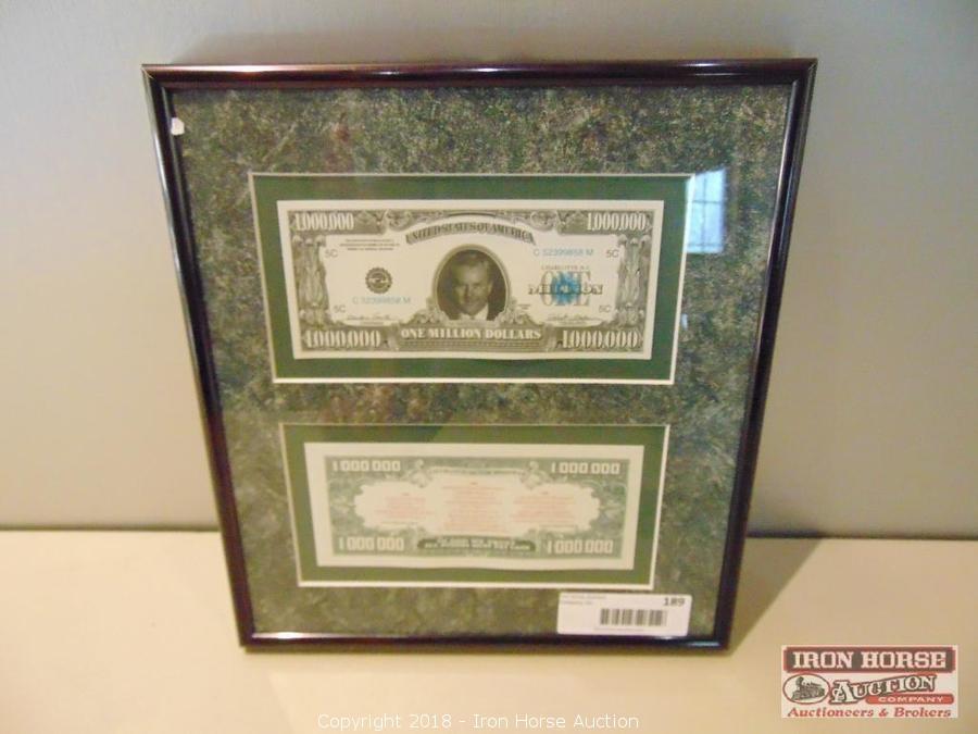 Iron Horse Auction - Auction: Living Estate Auction of Mr
