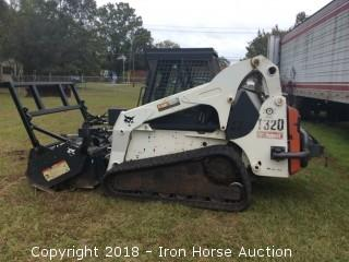 2008 Bobcat Skidsteer T320, (Forestry Cutter Not Included)