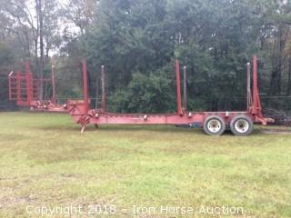 2008 Pitts 42Ft. Double Bulk Plantation Long Trailer