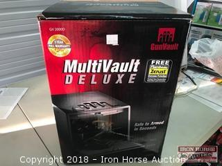 Gunvault Multivault Deluxe Biometric Gun Safe
